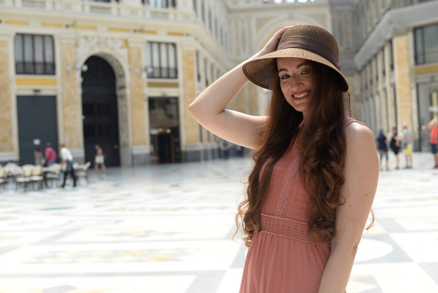 Alessandra Scotto Pagliara Shooting Milano