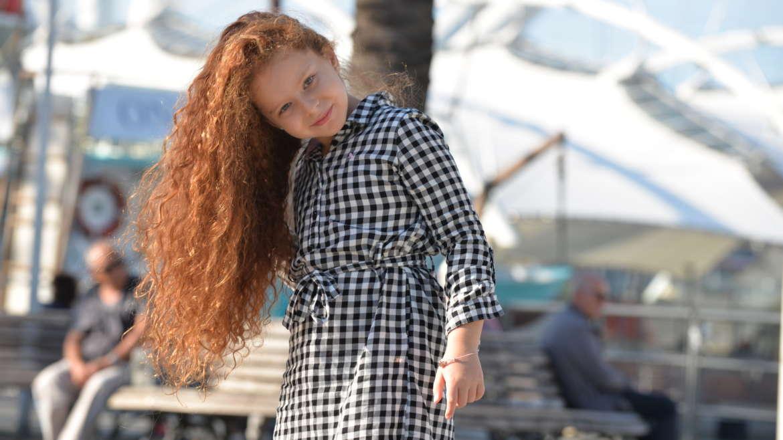 La bellissima e piccola Noemi Gramaglia